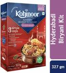 Flat 50% Off: Kohinoor Basmati Hyderabadi Biryani Kit at Rs.63