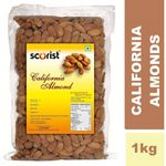 Best Price - Scorist California Almonds 1 kg @ Rs.692 + FREE SHIPPING