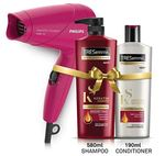 TRESemme Keratin Smooth Shampoo 580ml & Conditioner 190ml Combo Pack + Philips Hair Dryer