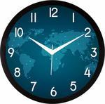 JaipurCrafts Designer Plastic Wall Clock for Home/Living Room/Bedroom/Kitchen- 12 in (with Ajanta Movement)