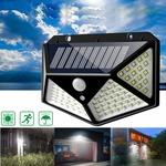 Cheapest- 100 LED Solar Powered PIR Motion Sensor Wall Light - Banggood