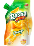 Rasna Fruit Plus Orange Spout Pack, 750g (Pack of 2)