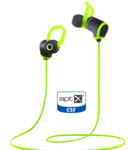 Bass evolution Bluetooth earphones powered by Qualcomm