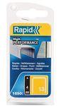 Rapid Galvanized Staples, 4mm (1600 Pieces)