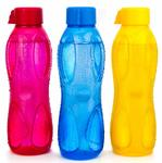 Signoraware Aqua Drop Plastic Water Bottle (Set of 3), 1 Litre @195
