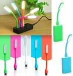 Kanish Sales 5V 1.2W Portable Flexible USB LED Light Lamp (Colour May Vary) -2 Pieces + Free Delivery