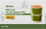 Chaayos  Free Desi Chai Offer only for today