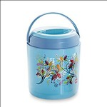 Cello Ranger Insulated 3 Container Lunch Carrier, Blue