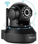 Sricam SP Series SP005 Wireless HD IP Wi-Fi CCTV Indoor Security Camera (Black)