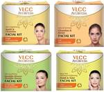 VLCC pack of 4 facial Kit 200g pack of 4