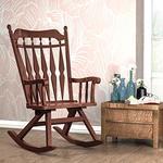 Forzza Barry Rocking Chair Coffee Oak