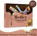 SNICKERS Medley Assorted Chocolates 410.4g (Pack of 4)
