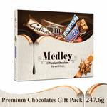 SNICKERS Medley Assorted Chocolates Diwali Gift Pack (Snickers, Bounty, M&M's, Galaxy), 247.6g
