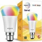 Wipro Garnet Smart Light 7W B22 LED Bulb