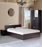 63% Off On Arisa Bedroom Set ( Queen Size Bed with Storage, 2 Door Wardrobe