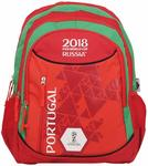 FIFA 40 Ltrs Red::Green School Backpack (MBE-FF009)