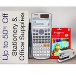 School & Office Supplies upto 70% off + upto 30% cashback @ Amazon