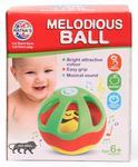 Toyshine Melodious Ball Rattle Toy, Non-Toxic