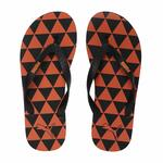 PUMA Unisex Adult Monk Gu Idp Black-Vibrant Orange Flip-Flops-10 UK (44.5 EU) (11 US) (37107901)