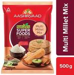 [Pantry]Aashirvaad Nature's Super Foods Multi Millet Mix Pouch, 500 g