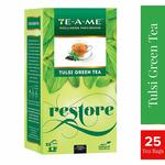Natural Tulsi Green Tea Pack of 25 Tea Bags @80