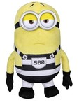 Simba Despicable Me 3 Movie Plush Figure Prison Version, Yellow 23cm (Design may vary)