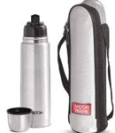 Milton Thermosteel Flip Lid Flask, 500 milliliters, Silver @475