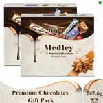SNICKERS Medley Assorted Chocolates Gift Pack  (Pack of 2) 30% off + 10% coupon off