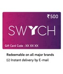 10% instant discount with SBI card on Swych gift cards on Snapdeal