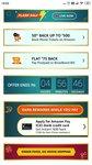 Amazon Flash sale: 50% cashback upto 500 on Movies & Flat 75 cashback on postpaid/broadband bill payment (acc specific)