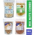 Glomin Mix Nuts Combo 1Kg @ just Rs. 1119 | Code: OFFER20