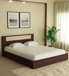 60% Off On Takai Queen Size Bed in Wenge Finish by Mintwud