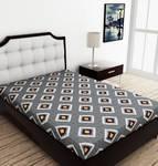 Metro Living- Cotton Single Printed Bedsheet