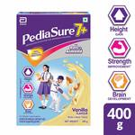 Pediasure 7+ Specialized Nutrition Drink Powder for Growing Children Vanilla Flavour 400 gm at Rs.250  Apply 40rs Off Coupon.