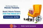 Book 2 Movie Tickets on Paytm on Sat & Sun & Get 100% off upto 150₹ on 2nd Ticket using AU Small Finance Bank Debit Card