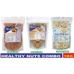 Glomin Healthy Nuts Combo 1Kg  just Rs. 1199   Use Code: OFFER20