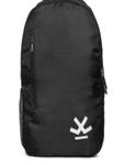 Unisex Black Brand Logo Backpack