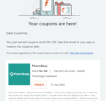 25% off for new user on using freecharge wallet and 200 rs cashback in freecharge.