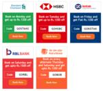 Bank offers on flights on goibibo