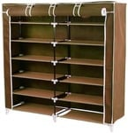 Light Weight Foldable 4 Shelves Shoe Rack Under Rs.300 At Amazon