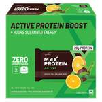 RiteBite Max Protein Active Green Tea Orange Bars 420g - Pack of 6 (70g x 6) Rs. 486 - Amazon