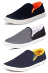 Tempo Men's Combo Pack Of 3 Synthetic Loafers Shoe at Rs.580-589 (depending on size) @ Amazon
