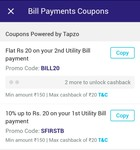 BHIM SBI Pay : Get 10% CashbacK On First Bill Min 150 & Flat 20 On 2nd Bill