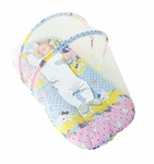 Sunbaby Baby Bedding with Mosquito Net Bed for New Born Toddlers -0 to12 Months at Rs.355