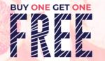 Buy one get one FREE on facewash, bodywash, shampoo and more
