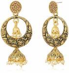 Zaveri Pearls Jhumki Earrings for Women
