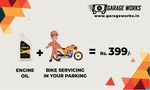 BIKE SERVICING IN YOUR PARKING @399/- (FOR PUNE CITY ONLY)
