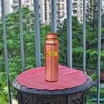Angelic Copper Doctor Designer Water Bottle Set, 1 L