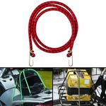 Autofy Multipurpose Ultra Flexible Bungee Rope/Luggage Strap/Bungee Cord with 15 MM Diameter and Metal Hooks (Multicolored)@ 76