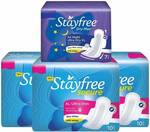 Stayfree Secure Ultra Thin XL Wings Sanitary Pad  (Pack of 37) @183